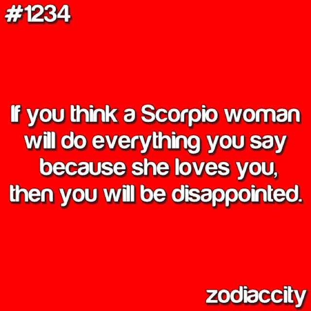 Scorpio Women Q...