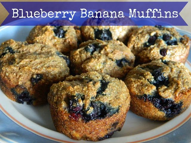 Healthy Banana-Blueberry Muffins Recipe — Dishmaps