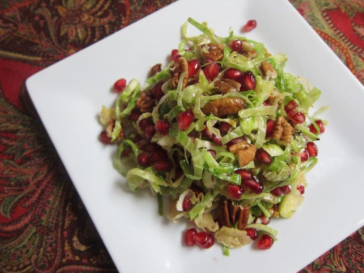 Brussels Sprout Pomegranate Citrus Salad Recipes — Dishmaps