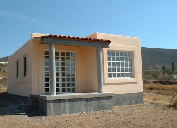 Plaster tiny house 600 sq ft 600 sq ft home