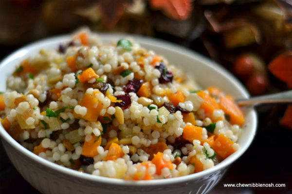 Pearl Couscous with Roasted Butternut Squash and Preserved Lemons ...