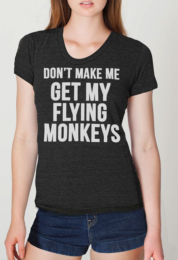 flying monkey t-shirts from the wizard of oz