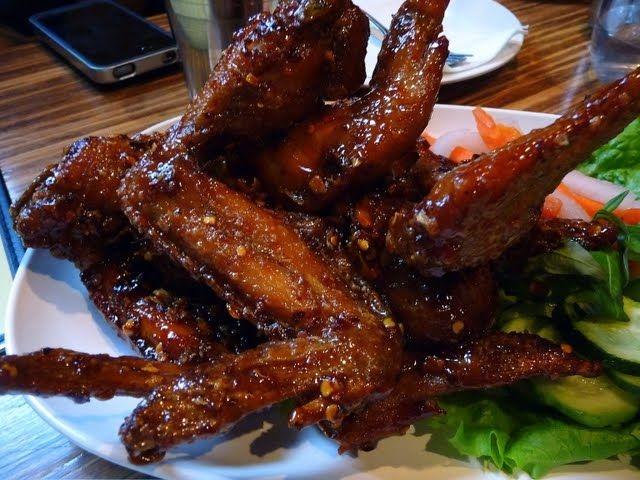 Pok Pok. Vietnamese Fish Sauce wings, half a dozen natural chicken ...