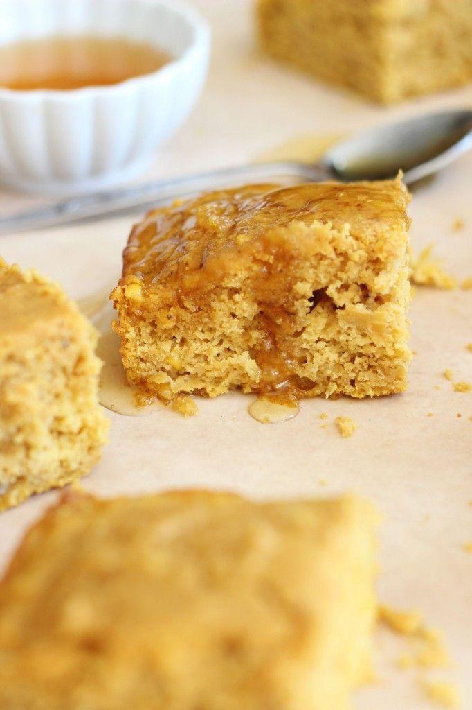 ... pumpkin cornbread with creamed corn, honey, molasses, and brown sugar