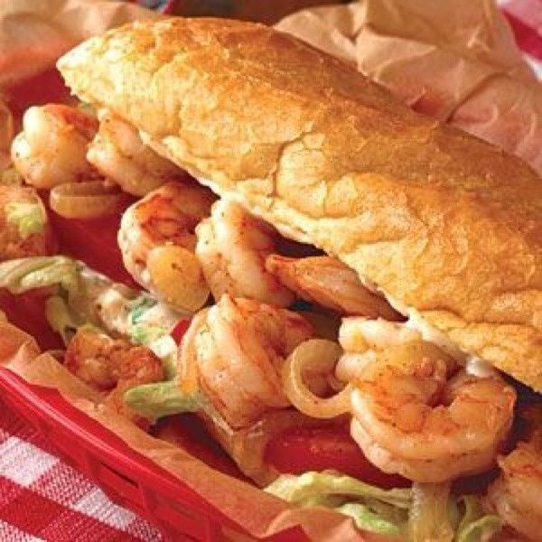 Shrimp po-boy | Pics I want to eat | Pinterest
