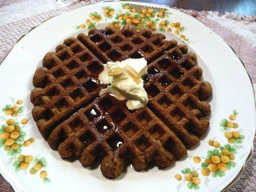 ... cookies gingerbread waffles with vanilla bean orange butter recipe key