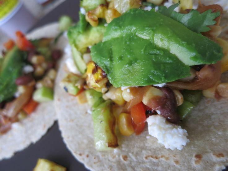 vegetarian tacos | vegetarian delights! | Pinterest