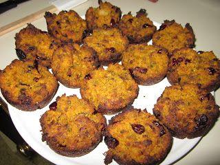 ... Run: HungrySister Presents: Sausage Pumpkin Cornbread Stuffing Muffins