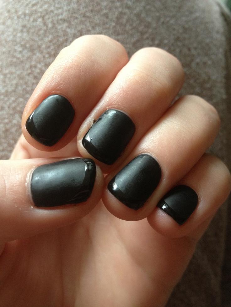My shellac nails for halloween | Shellac, OPI Gel Polish Ideas
