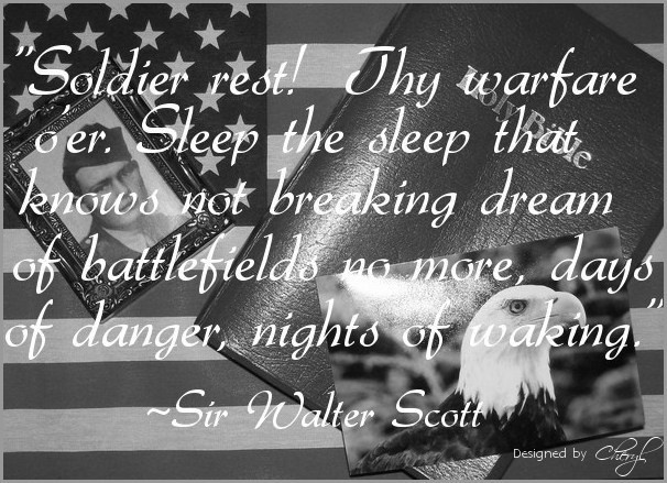memorial day soldier quotes