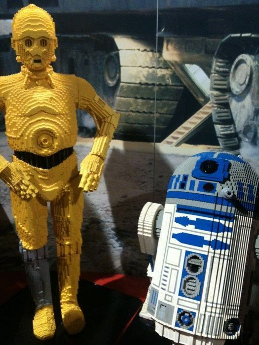 R2d2 And C3po Lego C3PO!!! and R2D2!!! Lo...