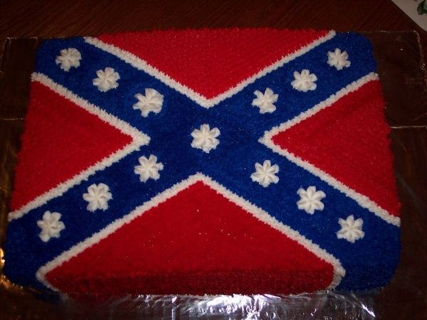 confederate flag cakes