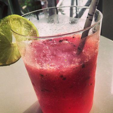 Frozen Watermelon Mint Gin Fizz, a recipe on Food52