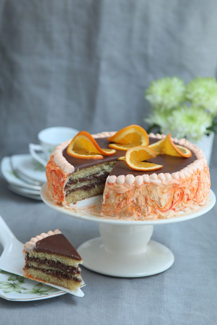 Olive oil orange cake | Have your cake and eat it! | Pinterest
