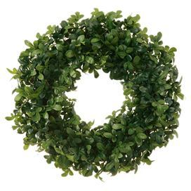 Boxwood wreath home decor pinterest