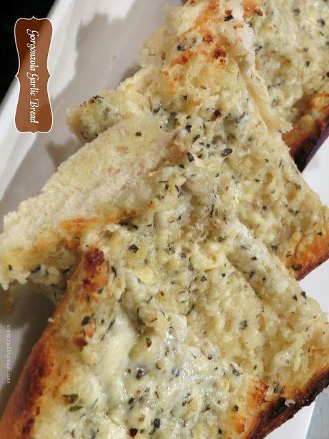 Gorgonzola Garlic Bread | Bread, Bread, Bread! | Pinterest