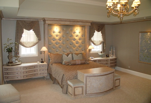 Old Hollywood Style Master Bedroom Alcobas De Ensue Os Pinterest