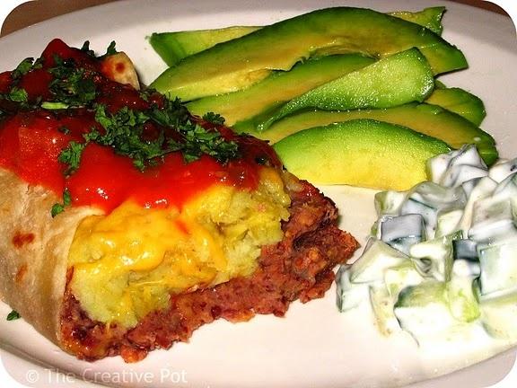 sweet potato burritos | Delicious | Pinterest