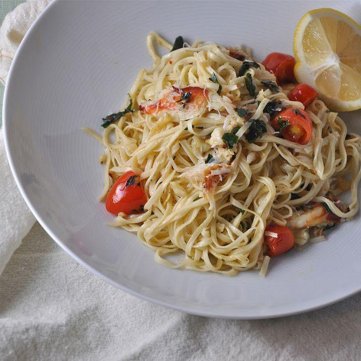Crab Pasta Recipe | YuMm! | Pinterest