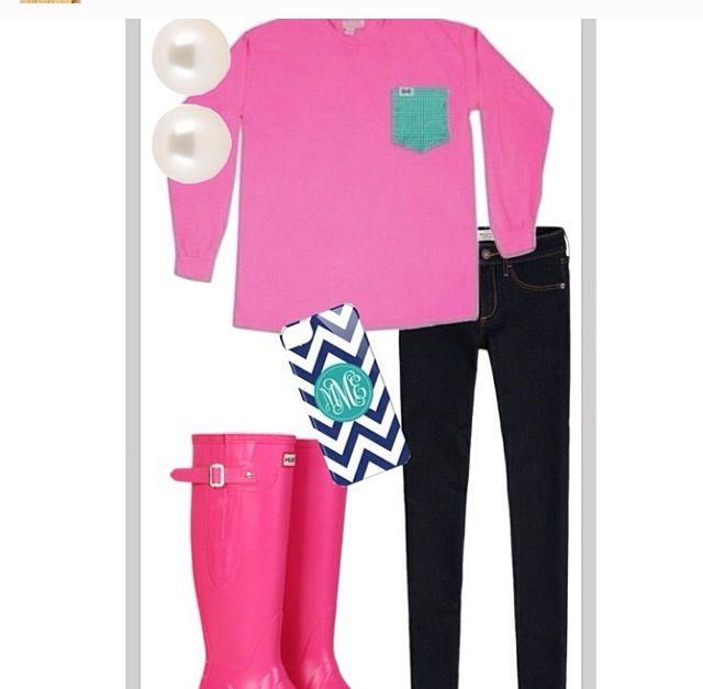 gorgeous preppy rainy day outfit ideas