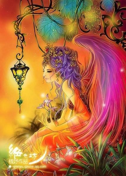 (fairy and lamp) QIANYU