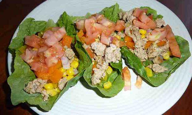 Turkey Taco Lettuce Wraps | Foodie | Pinterest