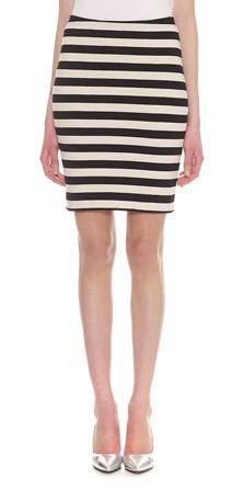 Whistles - Stripe Jersey Tube Skirt