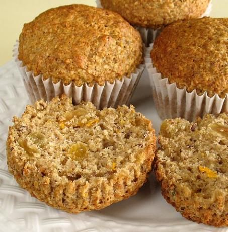 Yummy Bran & Flax Muffins | Recipe