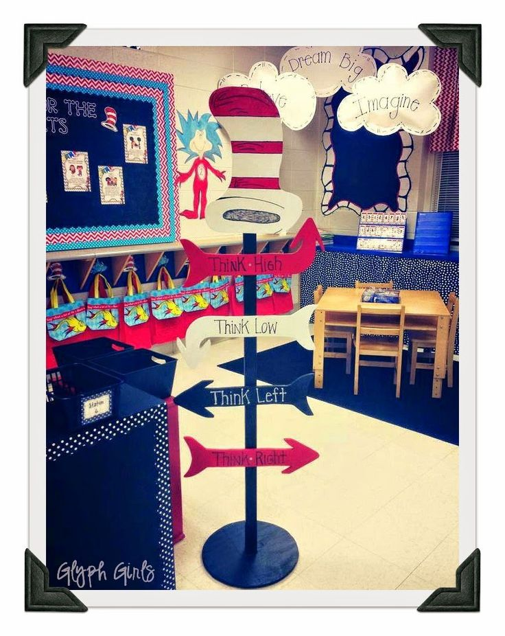 Classroom Decoration Inspiration : Dr seuss inspired classroom decor so cute education