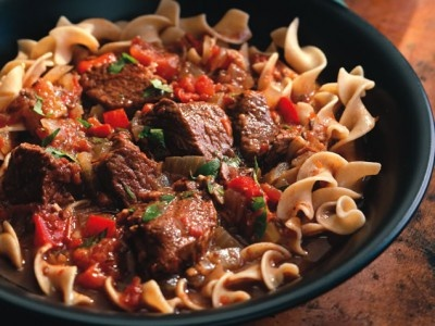 Hungarian Beef Goulash: Ingredients: -2 pounds beef stew meat,cubed ...