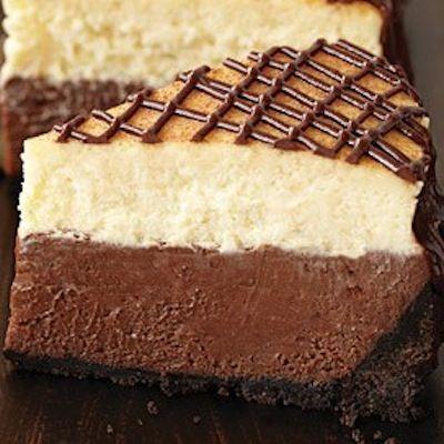 Chocolate Hazelnut Cheesecake… | Favorite Food Bloggers! | Pinterest