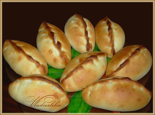 Постные пирожки с капустой cooking backen 2