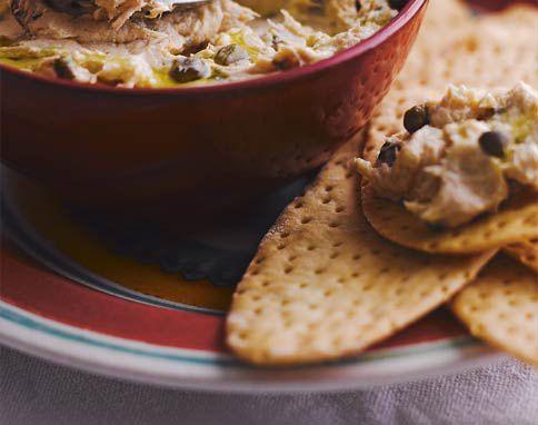 Tuna & caper butter | Dip et tartinades sucres et sales | Pinterest