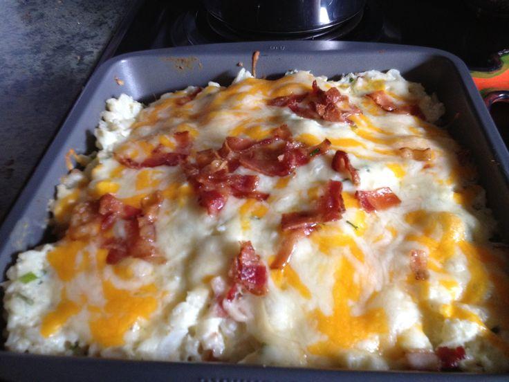 Twice Baked Cauliflower | Favorite Recipes | Pinterest