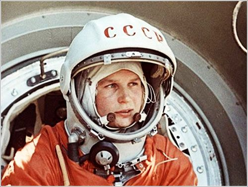valentina tereshkova background