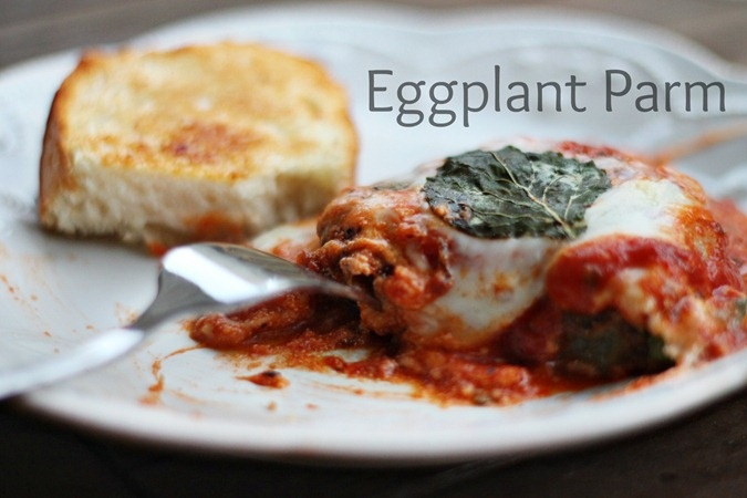 Lighter Eggplant Parmesan Recipe — Dishmaps