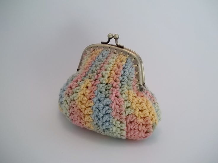 Change-Able Coin Purse Crochet Pattern. $5.99, via Etsy.