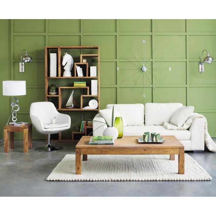 Table basse rectangulaire stockholm tendance nordique maisons du