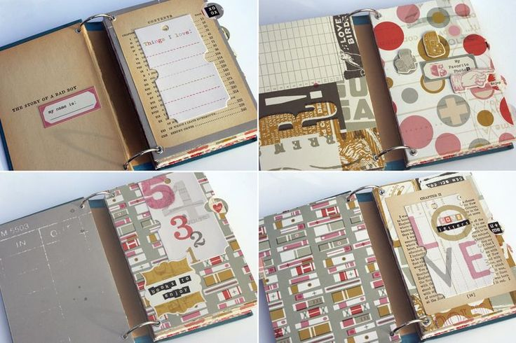 Diy smashbook out of an old book cover craft stuff pinterest - Diy uses for old books ...