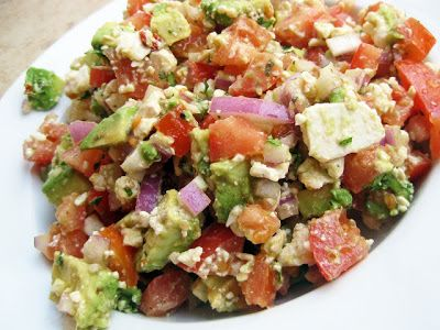 Avocado Feta Salsa | Salads & Dressings | Pinterest