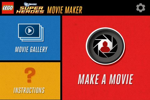 LEGO Releases Movie Maker App