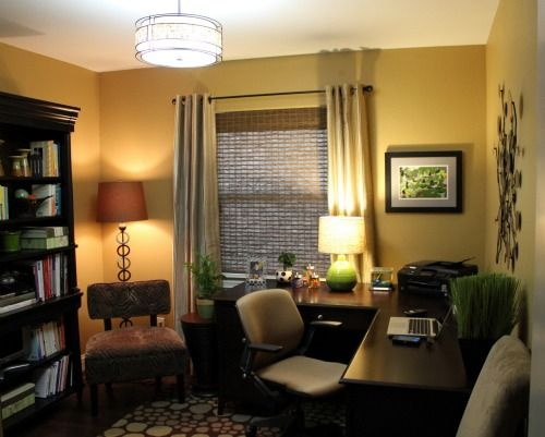 Cozy Home Office For The Home Pinterest