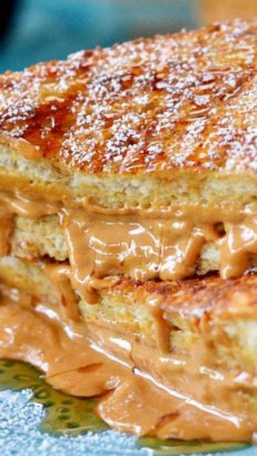 Peanut Butter Stuffed French Toast | Recipe