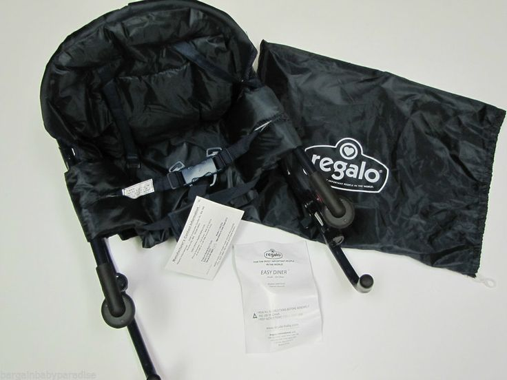 REGALO Portable High Chair Baby Seat Booster Hook On Table