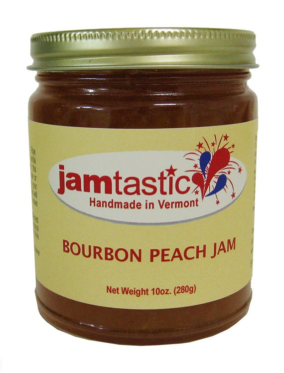 Bourbon Peach Jam Recipe — Dishmaps