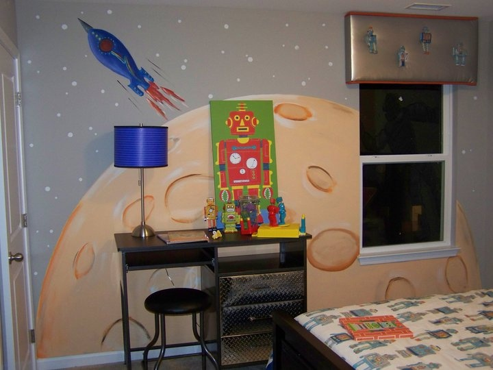 Outer space bedroom home decorating pinterest for Boys outer space bedroom ideas