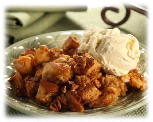 Butterscotch Pecan Bread Pudding | Desserts | Pinterest