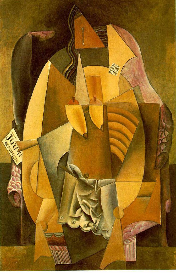 Picasso Synthetic Cubism Cubism Pinterest
