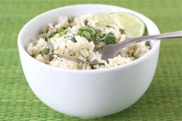 Cilantro Lime Rice - sounds good...cilantra, garlic, butter...how can ...