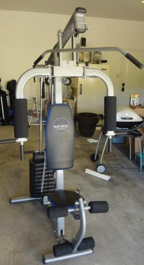 Maxx strength home gym benefit for temple community